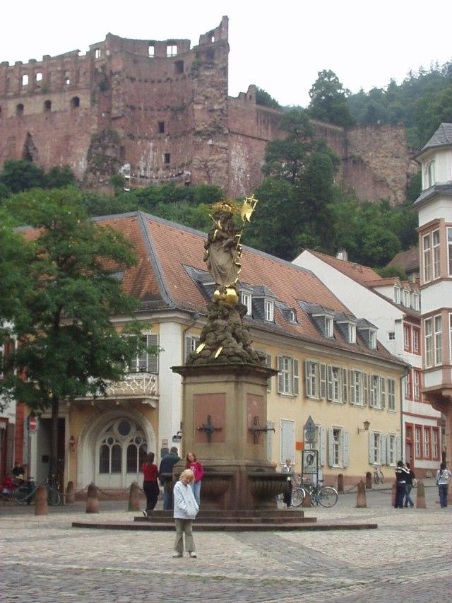 Catrin and Imogen in Heidelberg